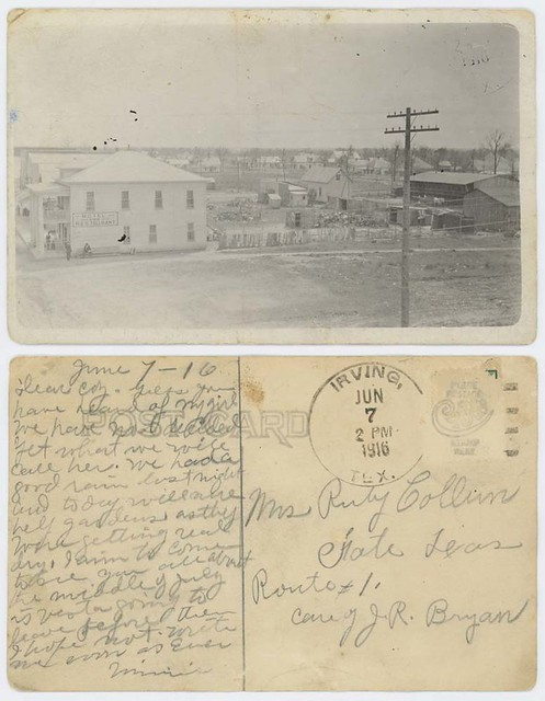 [Hotel and Restaurant, Irving, Texas]