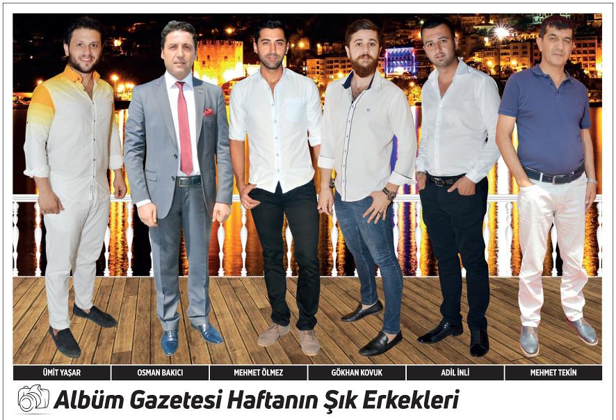 Ümit Yaşar, Osman Bakıcı, Mehmet Ölmez, Gökhan Kovuk, Adil İnli, Mehmet Tekin