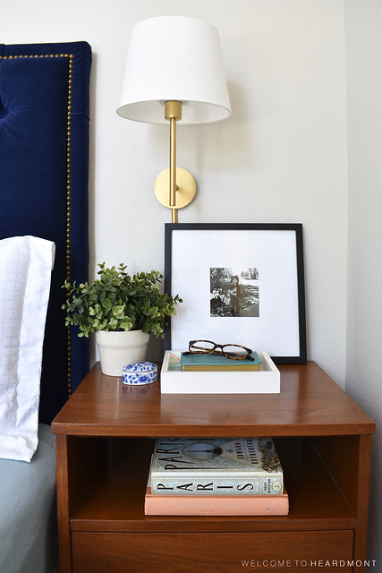 Master Bedroom R Nightstand Closeup | Welcome to Heardmont