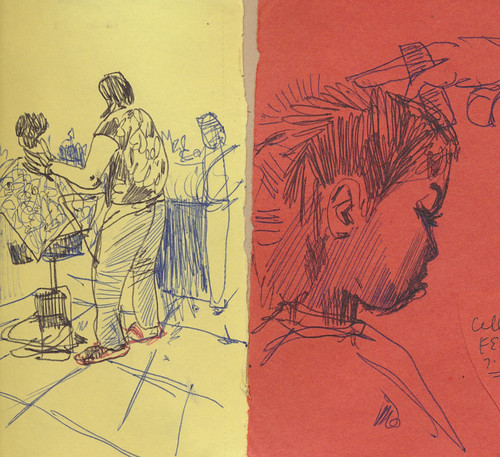 Sketchbook #106: Everyday Life - Haircut