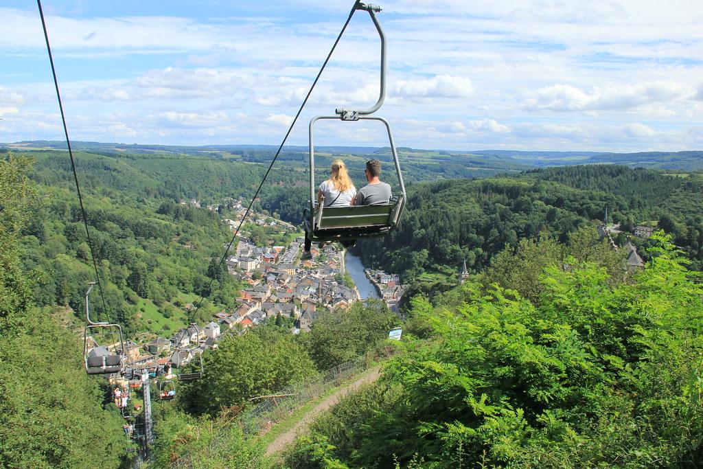 Chair lift, Top Station, Vianden.