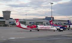 One of the last flights of Air Berlin