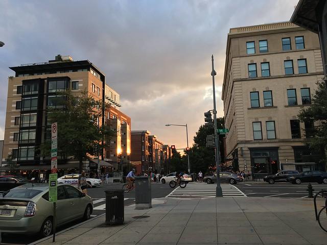 Corcoran sunset