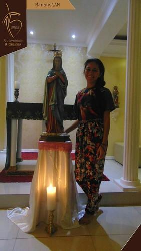 Oração do Santo Rosário em Manaus/AM