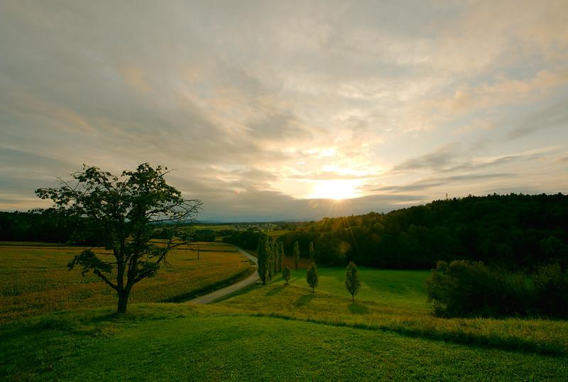 Styrian Sunset