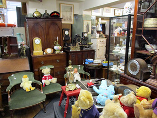 antiques and creepy toys
