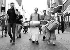 Hare Krishna, Canterbury streets