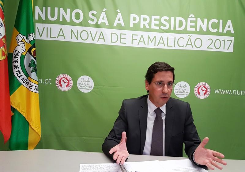 Nuno Sá _ Candidato CM Vila Nova de Famalicão