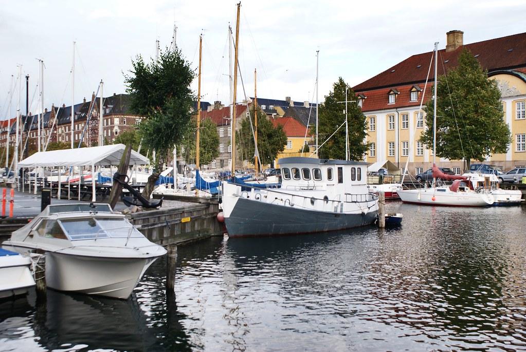 Venir à Copenhague en bateau : Une aventure un peu plus originale que de venir en avion comme tout le monde.