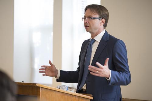 INTL Students Meet with Lithuanian Ambassador