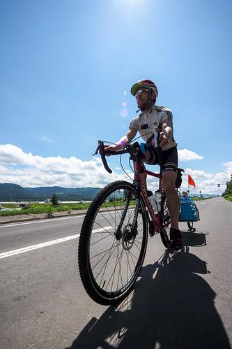 Camper-cycle tour in Tokachi (Hokkaido, Japan)