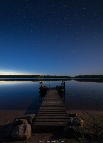 vaajakoski perseids kesä 2017 nightsky sky star starrysky landscape nikon d610 samyang 14mm water lake reflections suomi finland wideangle discover earth world amazing