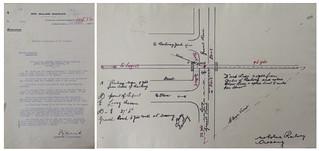 Mokotua Level Crossing Accident - January 7 1930