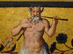 ALLORI Alessandro,1572 - Dossier de Lit avec Sc�nes Mythologiques et Grotesques, L'Enl�vement d'Europe (Florence) - Detail 12
