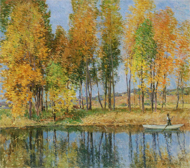 Autumn Festival by Willard Leroy Metcalf, 1915