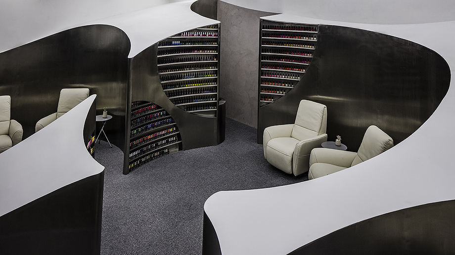 Diseño de interior: Salón de belleza