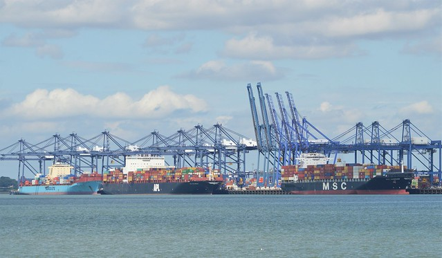 Port of Felixstowe (1) @ Felixstowe 15-08-17