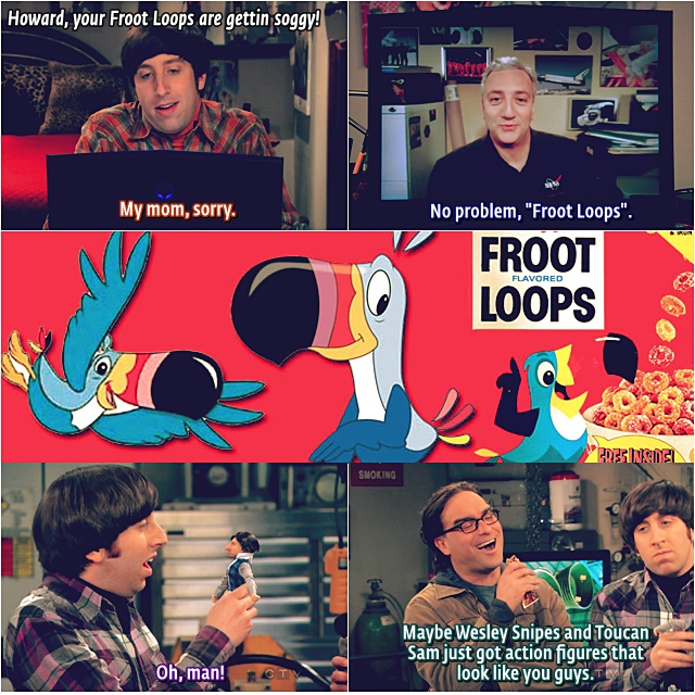 5x15-6x14 Froot Loops reference Howard