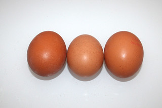 03 - Zutat Eier / Ingredient eggs