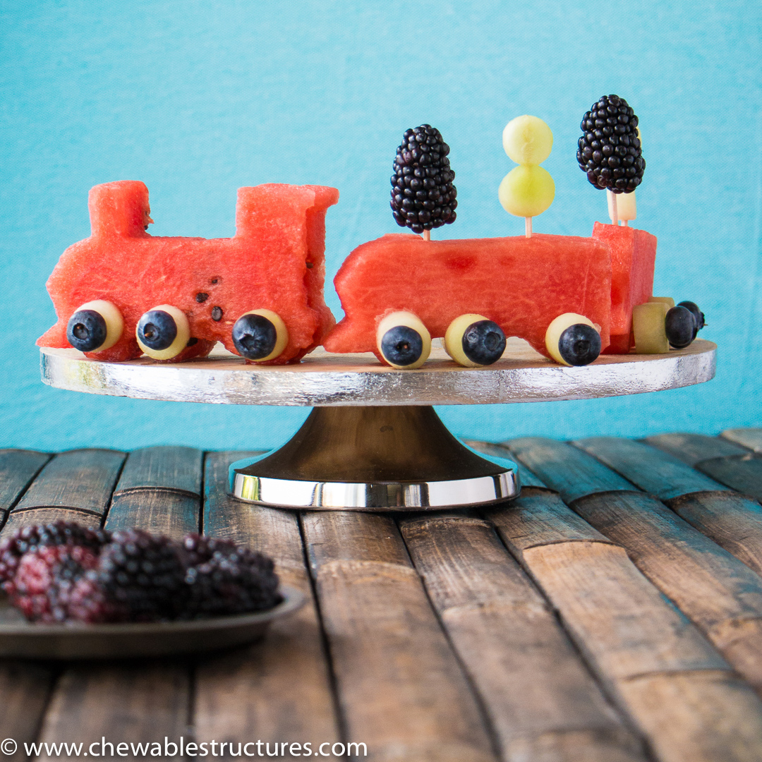 Ditch Your Boring Fruit Salad Recipe and Build This Watermelon Train