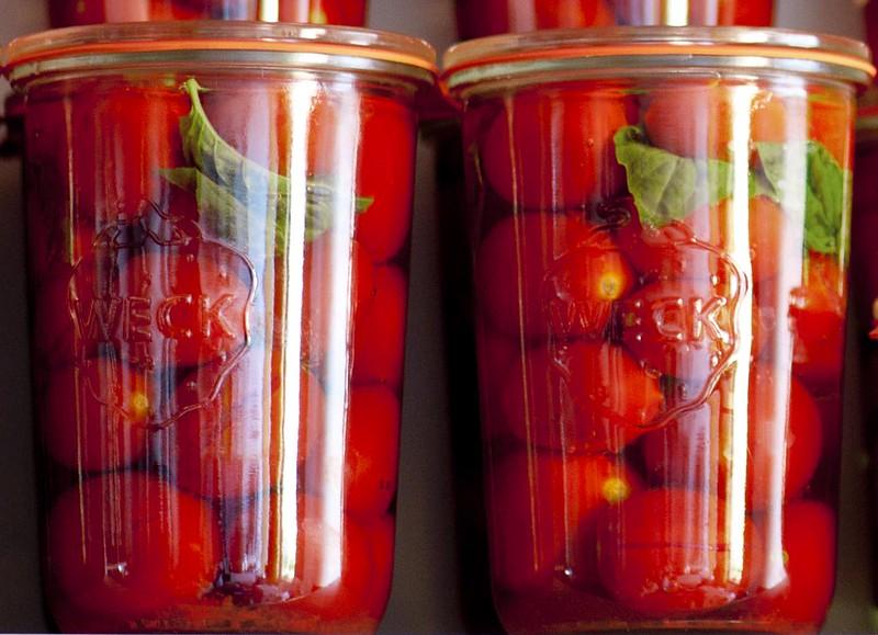Conserva di Pomodori Non Pelati Weck