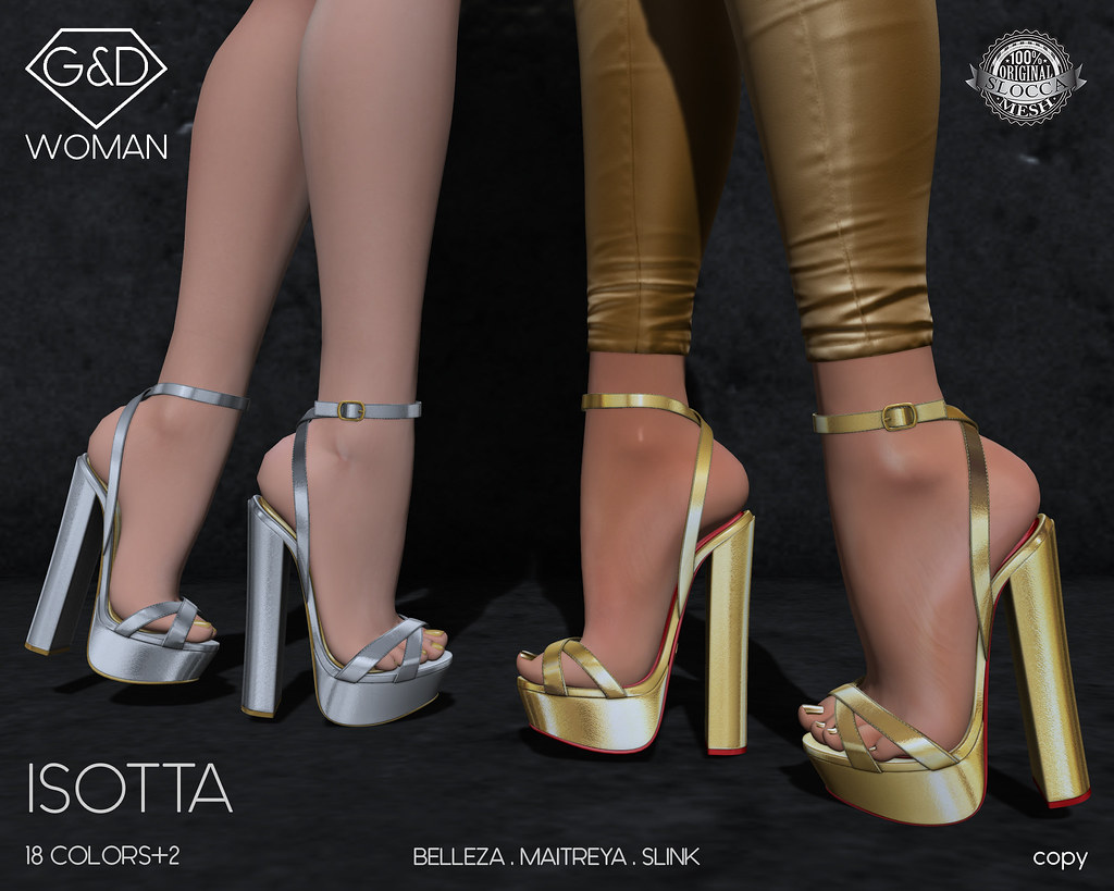 G&D Sandals Isotta 01 adv - SecondLifeHub.com