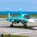 Su-34 at The Aviadarts-2016 flight skills competition in BELBEK AIRFIELD at Sevastopol, Crimea by The best from aviation