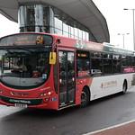 NXWM 2123 @ Wolverhampton bus station