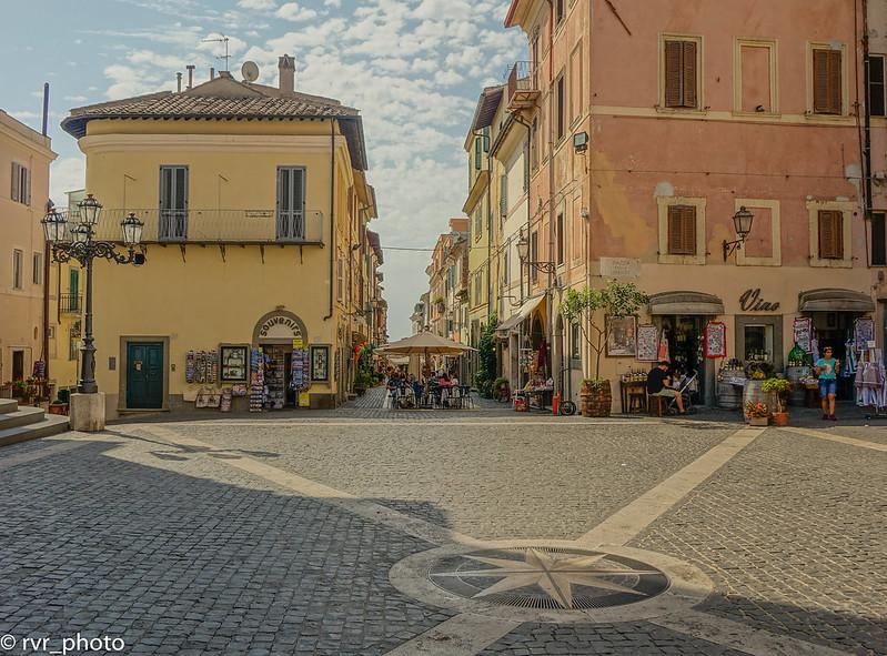 Plaza de Castel Gandolfo, Italia