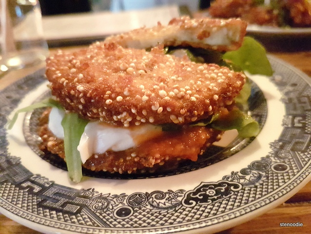 Eggplant Sangwich Doubledown