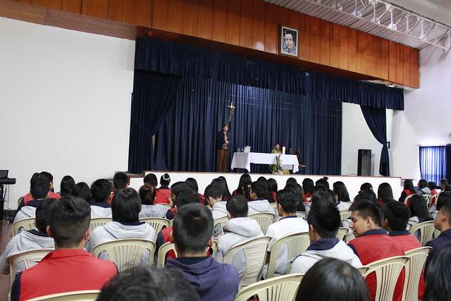EUCARISTÍA DE GRADOS ONCE PARA FORTALECES EL TRABAJO INSTITUCIONAL