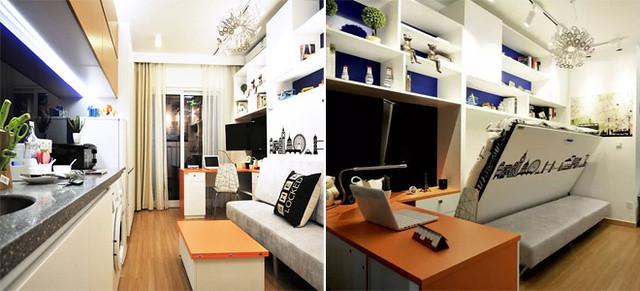 Lựa chọn căn hộ từ 40 – 50 m2, tránh quá rộng vì sẽ tạo cảm giác trống trải