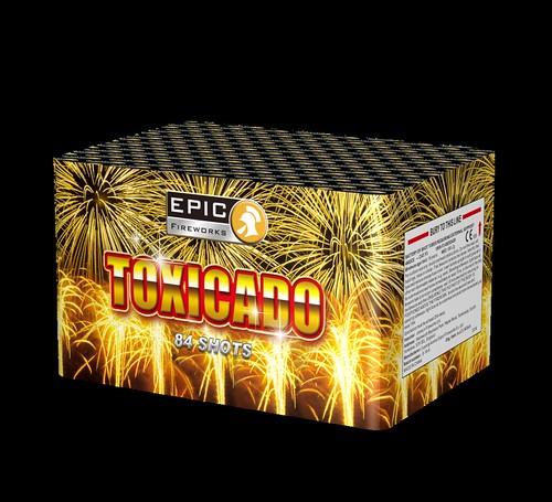 Toxicado Single Ignition Barrage #EpicFireworks