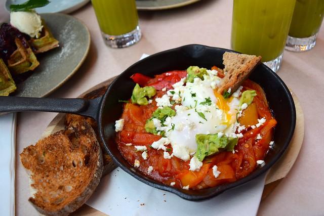 Shakshuka at Rail House Cafe, Victoria | www.rachelphipps.com @rachelphipps