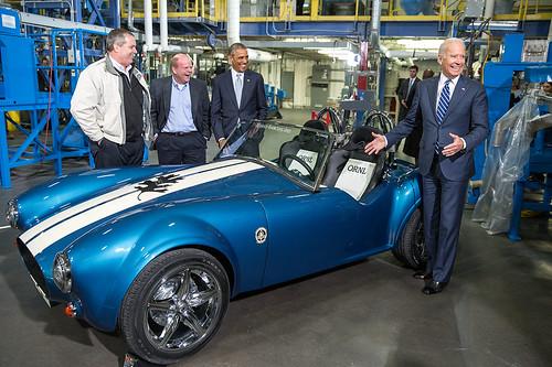 Obama 3D printed car