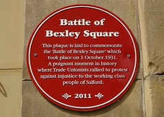 Photo of Battle of Bexley Square red plaque
