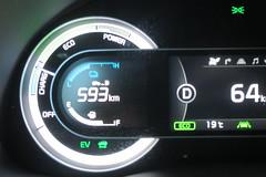 Charging the battery at 64 km/h 2017 Kia Niro Touring