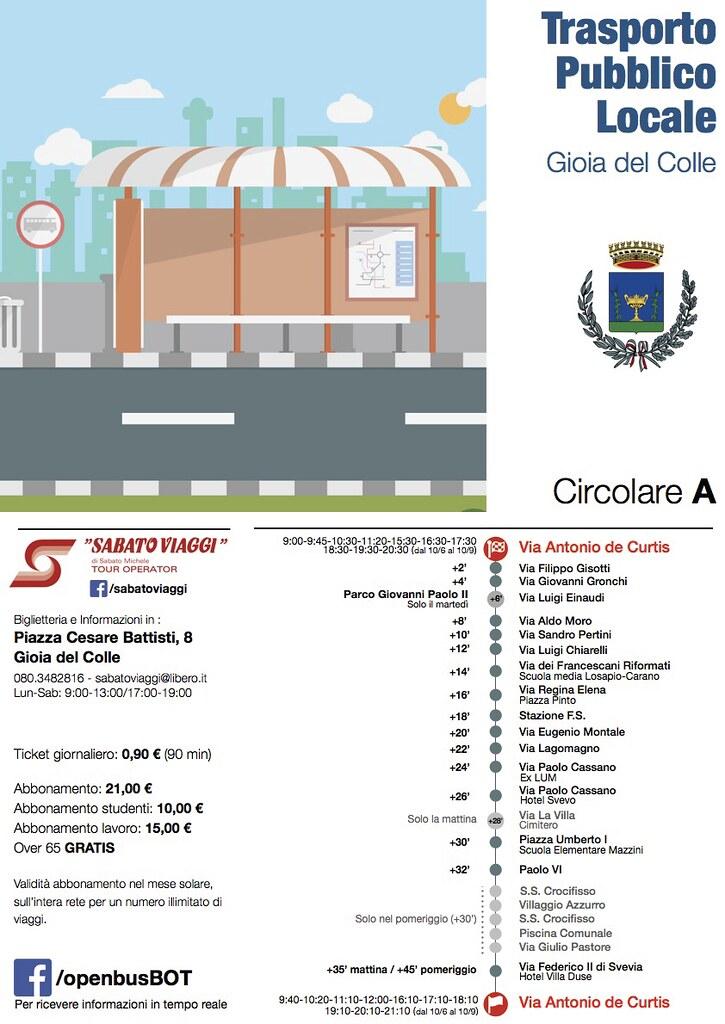 5 bus città Circolare A
