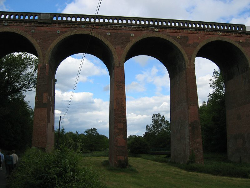 railway viaduct in eynsford 2