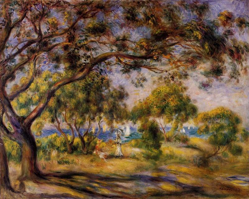 Noirmoutiers by Pierre Auguste Renoir, 1892