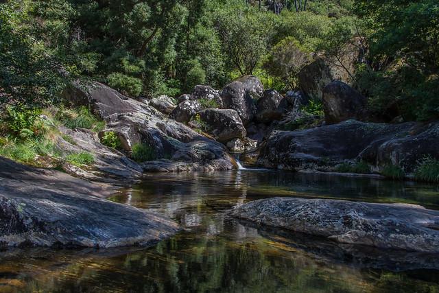 Pozas do Río Pedras, Galicia