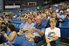 Episcopal Florida posted a photo:	Boston Red Sox and Tampa Rays on Sept. 15, 2017