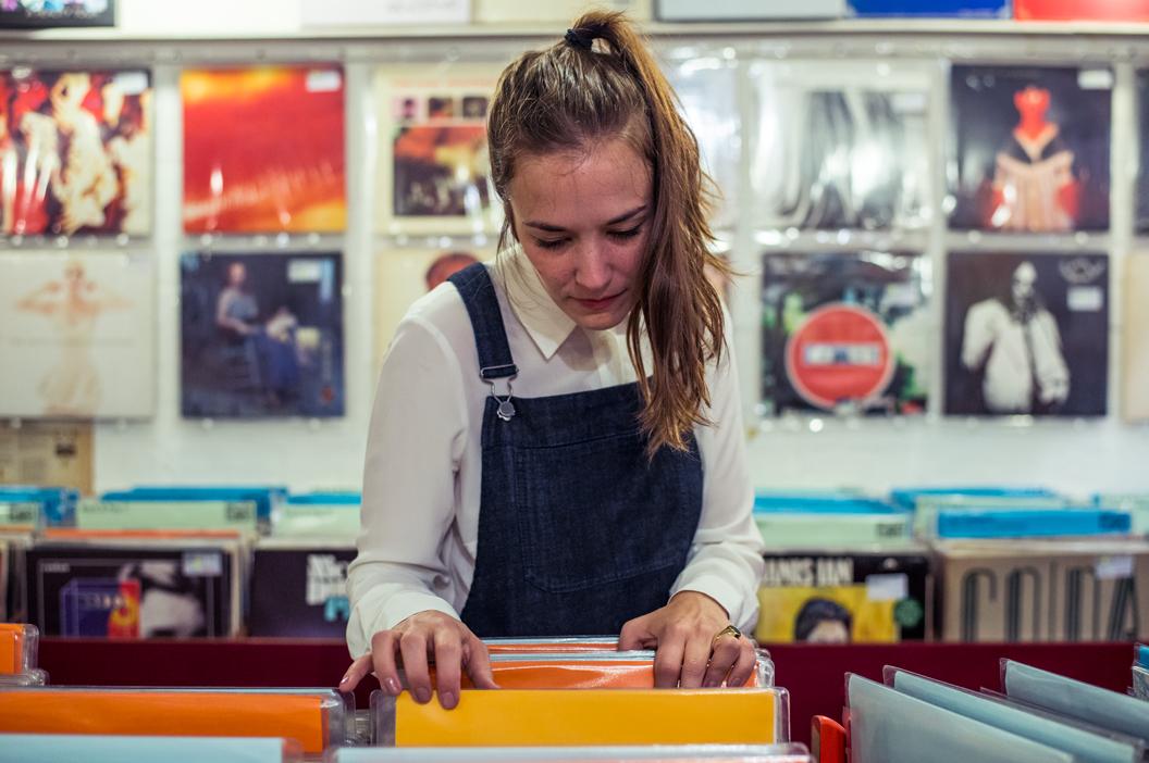 Record Shopping w/Margaret Glaspy