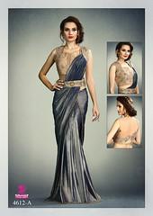 2581 Modern Medley Wedding wear Fancy Knit Saree