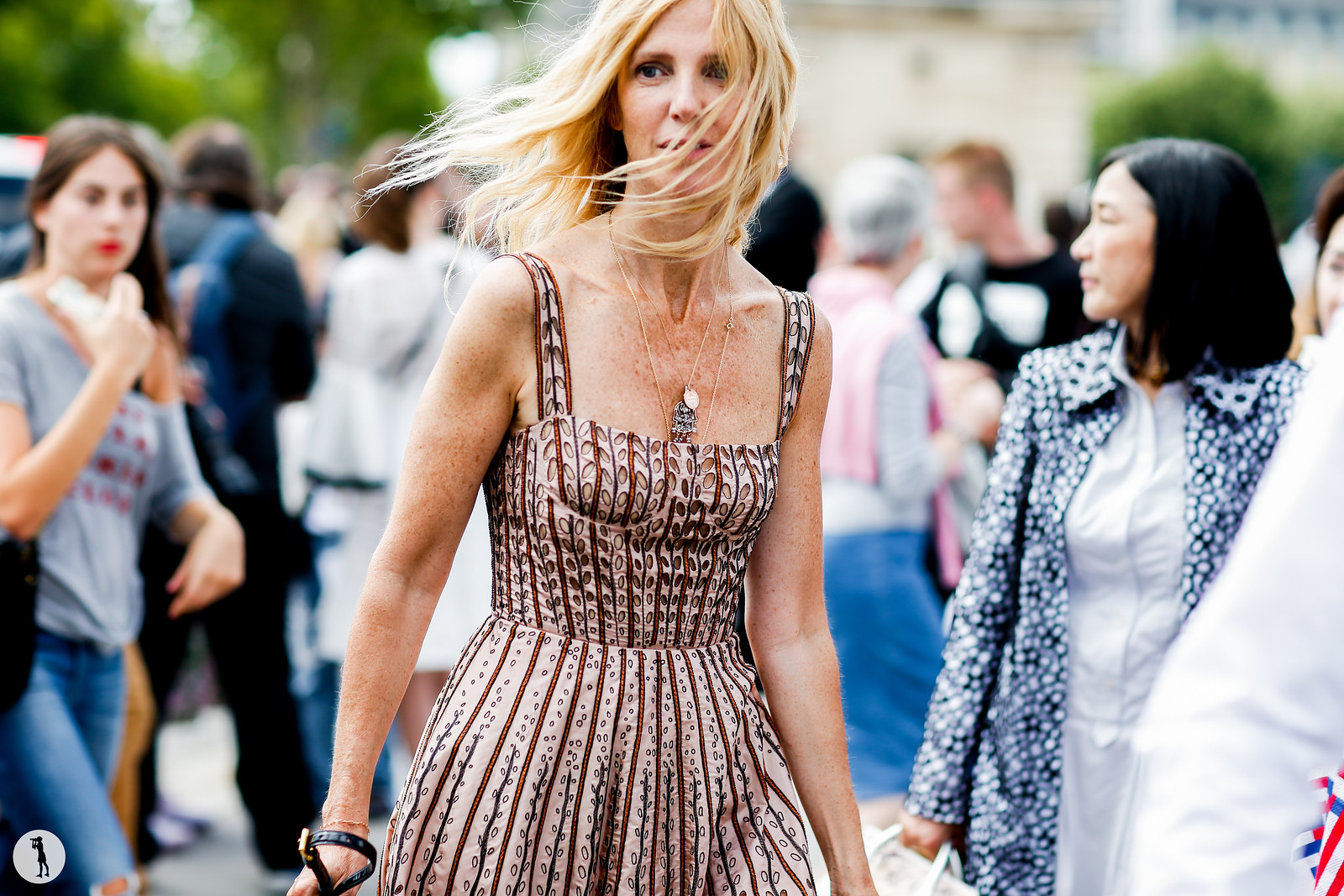 Sandrine Kiberlain - Fashion Week Haute Couture FW17-18 (2)