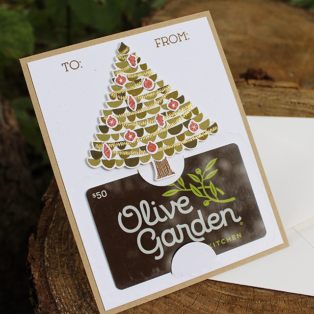 Christmas Tree Gift Card Holder 2