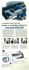 Illustrated 1944 Ad, Insulite Structural Snsulation