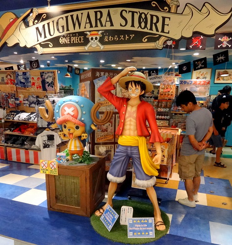 One Piece Mugiwara Store in Shibuya. From Love Tokyo's Otaku Culture? Read this.