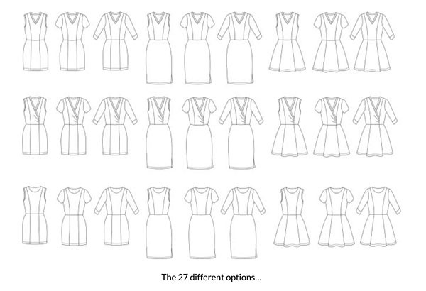 Aldaia dress options