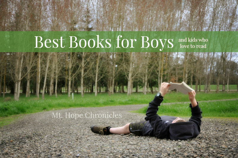 Best Books for Boys @ Mt. Hope Chronicles